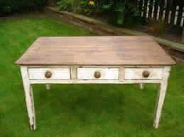 Antique Painted Pine Kitchen Table Dining Table Farmhouse Table - Old pine kitchen table