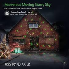 Landscape Laser Lights Christmas Lights Led With 12 Fancy Patterns