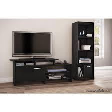 Sauder Premier 5 Shelf Composite Wood Bookcase by South Shore Step One Pure Black Storage Open Bookcase 3107652