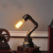 table lamps vintage edison table lamp model lamps of image