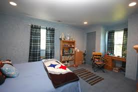 a blue tween room for girls