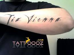 name tattoos on men u0027z arms with black ink for more stylish