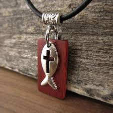 jesus fish necklace best christian fish jewelry products on wanelo