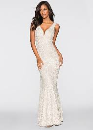 evening gown sequin evening gown by bodyflirt boutique bonprix