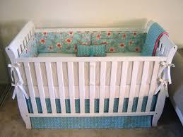 Mini Crib Bumper Pads by The Nursery Nook Hello Nutritarian