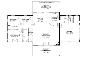 one story brick ranch house plans one story ranch style ranch house plan anacortes 30 936 floor plan