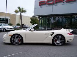 white porsche 911 turbo 2009 porsche 911 turbo cab in cream white with cocoa interior
