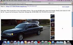 Used Cars With Leather Interior Craigslist Oklahoma City Used Cars For Sale Best By Owner