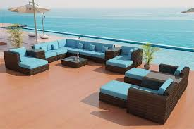 Modern Wicker Furniture by Sectional Sofa Outdoor Patio Furniture Set 25
