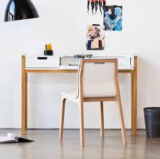 Schreibtisch Design Schreibtisch Halling Ausziehbar Wildeiche Teilmassiv Fashion