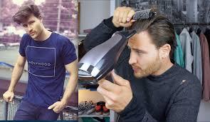 Frisuren Mittellange Haare Herren by Haarstyling Tutorial Für Männer Bei Mittellangen Haaren