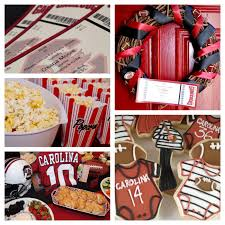 football baby shower a southern hostess gamecock football themed baby shower