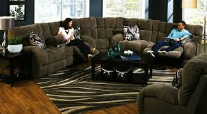 Seven Piece Reclining Sectional Sofa by Siesta 3 Piece Power Lay Flat Reclining Sectional In