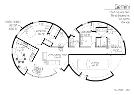 floor plan dl 3503 monolithic dome institute house