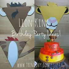 lion king wrapping paper how to throw an amazing lion king party the diy way lion king