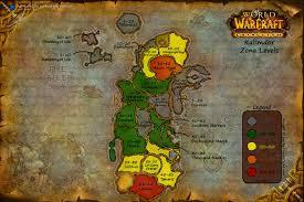 kalimdor map of warcraft horde progression through the azeroth arqade