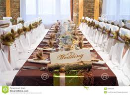 special wedding table decorations stock images image 35568294