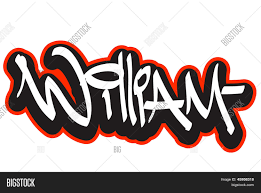 Name Style Design by William Graffiti Font Style Name Hip Hop Design Template For T