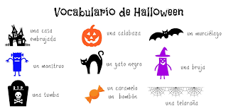 raising bilingual kids halloween printables in spanish ladydeelg
