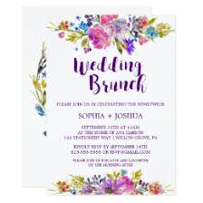 morning after wedding brunch invitations post wedding brunch invitations announcements zazzle