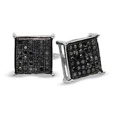 black diamond earrings for men black diamond earrings for men complete your story with black