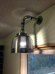 Galvanized Pendant Light Galvanized Pendant Light Fixture Another Hack Pretty Cool Kitchen
