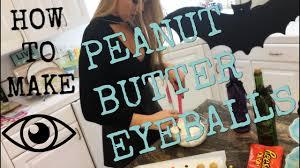 Diy Halloween Treats Diy Halloween Treats Peanut Butter Eyeballs Rydel Lynch Youtube