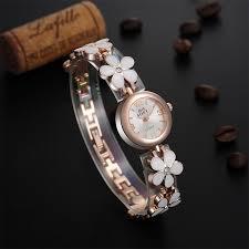 ladies watches bracelet style images Fine new style ladies bracelet watches female models flowers jpg