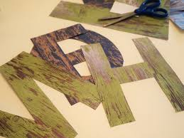 Barn Wood Letters Faux Barnwood Letters A Cultivated Nest
