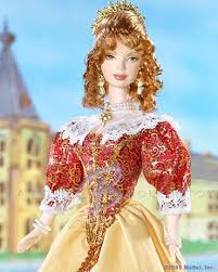 inspired fashion 17th century holland barbie doll