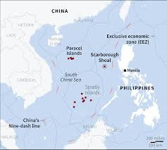 Spratly Islands Map Look The West Philippine Sea Dispute Abs Cbn News