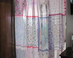 scarf curtain etsy