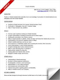 Free Dental Assistant Resume Templates Dental Assistant Resume Examples Resume Examples For Dental