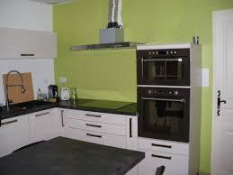 cuisine noir et rouge decoration cuisine mur idées de design maison et idées de meubles