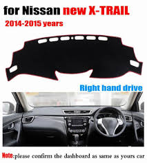 nissan accessories x trail car dashboard cover mat for nissan new x trail 2014 2015 years