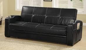 black leather sleeper sofa amazing coaster sleeper sofa modern leather sleeper sofa glamorous