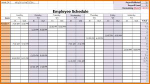 Monthly Employee Work Schedule Template Excel Free Employee Schedule Template Employee Work Schedule Template