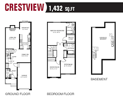 property floor plans bridlewood townhomes urbandale corporation