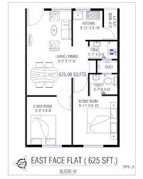 House Layout Design India by Apartments 2 Bhk Home Plan East Face House Elevation Building