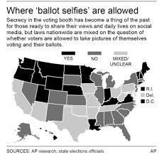 ballot selfies posing a problem saukvalley com