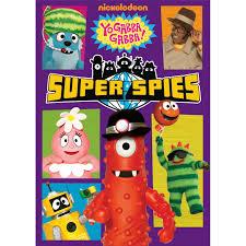 yo gabba gabba super spies dvd yo gabba gabba books dvds