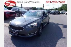 Upholstery Silver Spring Md Used Kia Cadenza For Sale In Silver Spring Md Edmunds