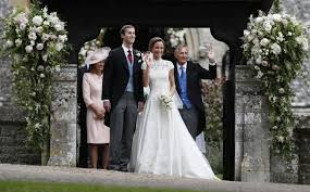 pippa middleton just got married and people really love her dress