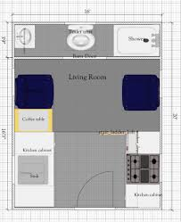 free tiny house floor plan 16 x 20 with loft ft plans luxihome