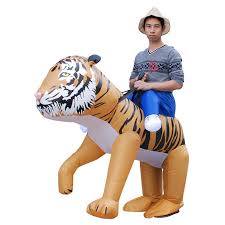 Inflatable Costume Halloween 2017 Latest Love Live Cosplay Selling Inflatable Tiger Costume