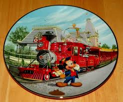 40th anniversary plates collector plate from disneyland s 40th anniversary series issue 2