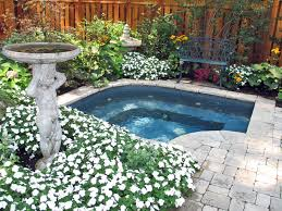 Backyard Ground Cover Ideas by California In Ground Spas Images Custom Designed In Ground Stone