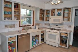 Kitchen  Kitchen Cabinets Canada Kitchen Pantry Cabinet Lowes - Stainless steel cabinet doors canada