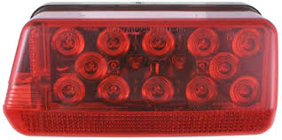 wraparound led tail light for trailers over 80