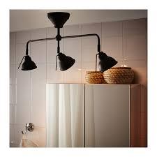 Ikea Bathroom Lighting Vitemölla Triple Ceiling Spotlight Metal Metal Length 29 1 2